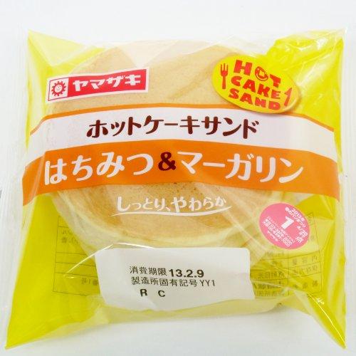 ヤマザキ ホットケーキサンド はちみつ&マーガリン 3個からご注文ください
