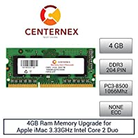 4GB RAMメモリfor Apple iMac 3.33GHz Intel Core 2Duo ( 21.5inch ) ( ddr3Late 2009) ( ddr38500)デスクトップメモリアップグレードby US Seller