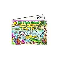 U.S.Virgin Islands Map Collectible Souvenir Playing Cards [並行輸入品]