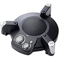 サンワダイレクト WEB会議マイクスピーカーフォン 半径3m集音 ノイズキャンセル機能搭載 400-MC003