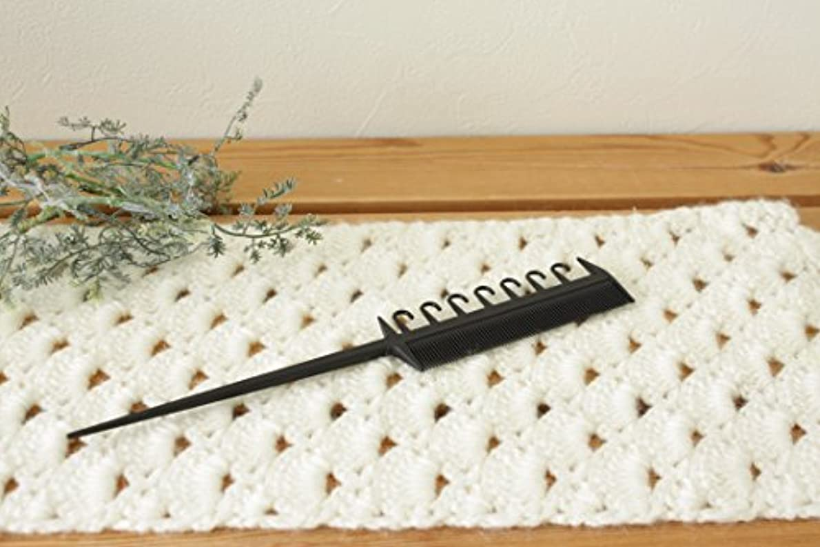 道徳贅沢習熟度カーボンハイライトコーム Carbon Hilight Comb