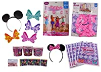 Minnieマウスパーティー誕生日Suppliesデコレーションパック PK2 ピンク