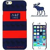【 Abercrombie&Fitch 】 iPhone6用ケース(4.7インチ) アバクロンビー&フィッチ ロゴ a&f-003 [並行輸入品]
