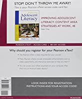 Improving Adolescent Literacy: Content Area Strategies at Work Enhanced Pearson eText - Access Card (4th Edition) [並行輸入品]
