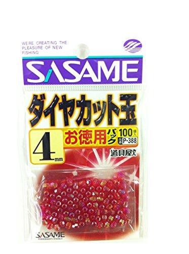 ささめ針(SASAME) P-388道具屋徳用ダイヤカットレッド 4