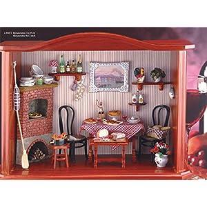 【ロイターポーセリン】【ミニチュア】 ドールハウス レストラン RP1860-1