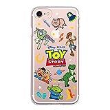 【Disney】 トイストーリー オリジン 透明 ゼリー ケース Toy Story ORIGIN Clear Jelly Case スマホ 携帯 スマートフォン ケース TPU 透明 ゼリー 強い 人気 スリム カバー ダイエット 女子力 可愛い 〈Galaxy S8・ギャラクシー S8〉 〔タイプ④ / Type④〕