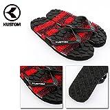(カスタム)KUSTOM ae208505 メンズ サンダル KADILLAC STONES/AE208505 26cm RED