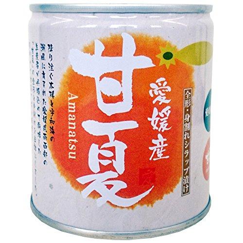 愛工房 愛媛県産甘夏缶詰め5号缶 295g