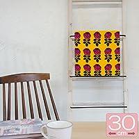 ファブリックパネル マリメッコ/marimekko VIHKIRUUSU/ORANGE&PINK 30×30cm