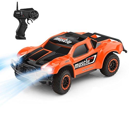 ラジコンカー IRUIS リモコンカー四輪駆動ミニRCカー 無線オフロード バギー 競技可能 2.4Ghz 多機能車 初心者向け