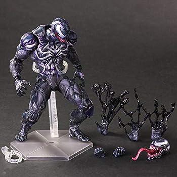 ヴェノム venom マーベル フィギュア 1/6スケール プラスチック製 塗装済み可動フィギュア (グレー)