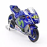 Maisto 1:18 YAMAHA YZR-M1 No.46 Valentino ROSSI Moto GP 2015 Ver. Die-casts Metal bike Collection Models [並行輸入品]