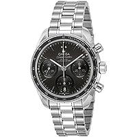 [オメガ]OMEGA 腕時計 Speedmaster ブラック文字盤 コーアクシャル自動巻き 324.30.38.50.01.001 メンズ 【並行輸入品】