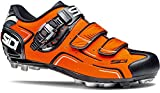 SIDI(シディ) MTB バベル サイクルシューズ 39.0 (換算24.5cm) オレンジ/ブラック
