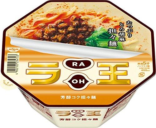 日清食品 日清ラ王 芳醇コク担々麺  131g×12個