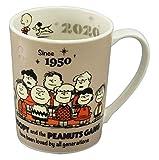 「 PEANUTS(ピーナッツ) 」 スヌーピー 2020年 イヤーズ マグカップ SN2020-11