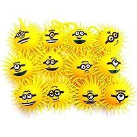 【光る玩具】ミニオンズ フェイスヨーヨー 24 入 / お楽しみグッズ(紙風船)付きセット [おもちゃ&ホビー]