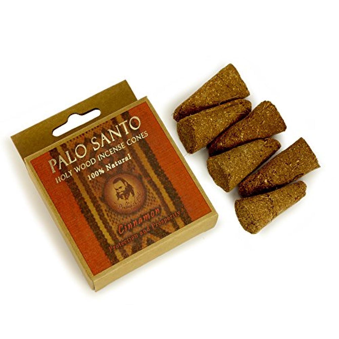 かんがい寄稿者兄Palo Santoとシナモン – 保護& Prosperity – 6 Incense Cones