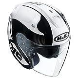 HJC(エイチジェイシー)バイクヘルメット ジェット ホワイト(MC5) M(57-58) FG-JET アカディア HJH088