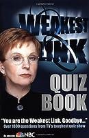 Weakest Link Quiz Book