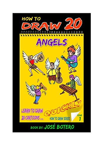 How to Draw 20 Angels (How to Draw 20 Cartoons Quickly Book 1) (English Edition)