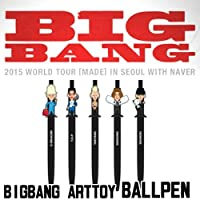 BIGBANG 【 ART TOY ボールペン 】2015 WORLD TOUR [MADE] IN SEOUL WITH NAVER 公式グッズ タイプ DAESUNG
