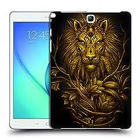 Head Case Designs ライオン ワイルド・アニマルズ Samsung Galaxy Tab A 9.7 専用ハードバックケース
