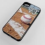 Best Line 6のフライライン - iPhoneケースiPhone 6Plus 6+ハイブリッドタフケースに野球First Base Line anyカスタムジャージー番号ブラックプラスチックブラックゴム TYDCIP6PHYB1370073 Review