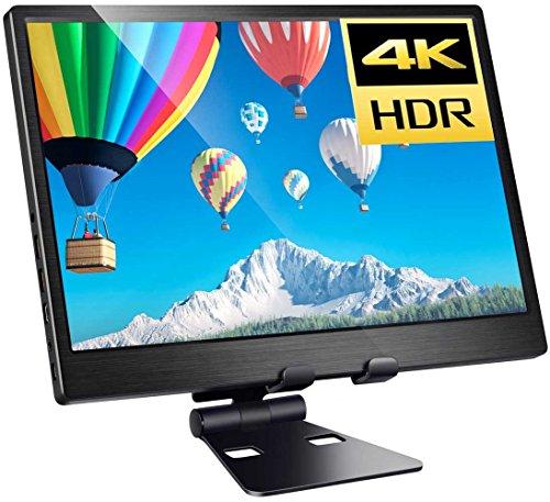 4kモバイルモニタ 13.3インチ3840x2160 IPS HDR機能を支持 UHD 3840x2160 IPS 液晶パネルゲーミングモニター ゲームモニタ ディスプレイPS4/xbox360/Raspberry Pi対応