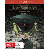 Saga Of Tanya The Evil Complete Series Dvd / Blu-ray Combo