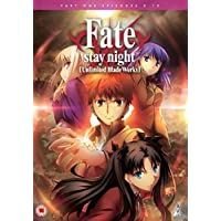 Fate Stay Night Unlimited Blade Works DVD-BOX 1/2