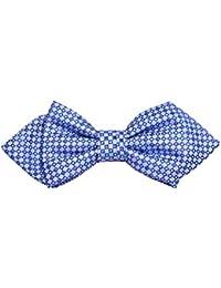 ポール?マローンシルク蝶ネクタイ。ブルー