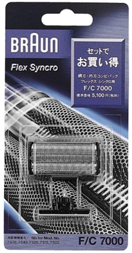 輝度フクロウフルーティーブラウン シェーバー網刃?内刃コンビパック F/C7000
