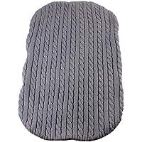 perfk 全4色 ベビー寝具 ブランケット 新生児用寝袋 寝袋 おくるみ ニット かぎ針編み 快適な