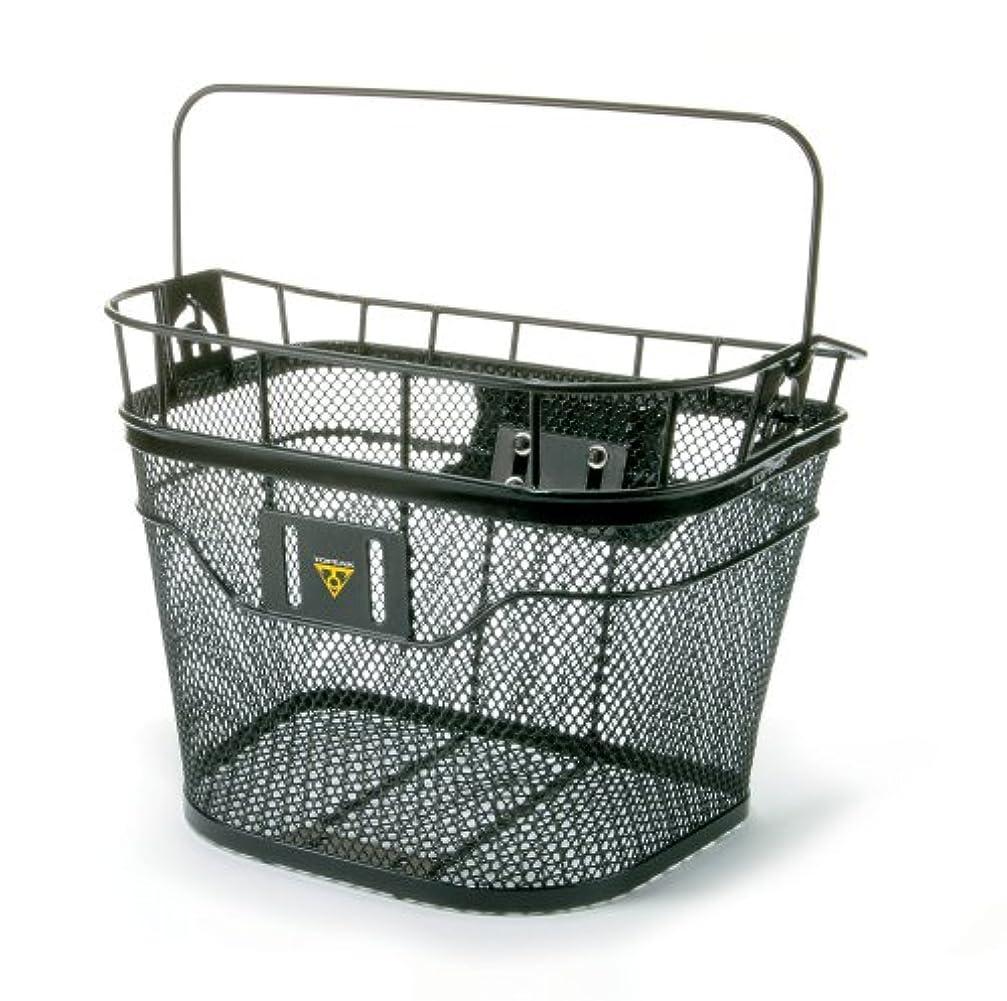 残基ふりをする不合格topeak(トピーク) バスケット (フロント) ブラック BKT039/TB2001