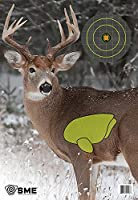 SME Vital Point Targets Package of 3 - Deer