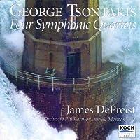 Tsontakis;4 Symphonic Qtets.