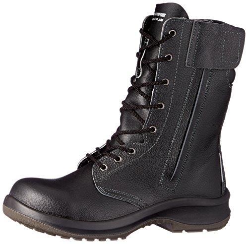 安全靴 JIS規格 長編上靴 プレミアムコンフォート PRM230F オールハトメ ブラック 25.5 cm 3E