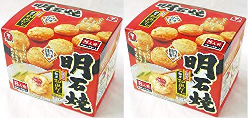 572821-2P かねます食品 冷凍 明石焼(たこ焼)粉末和風だし付 48個入(6個×8袋入)×2箱