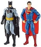 Best バットマンのおもちゃ - マテル バットマンvsスーパーマン ジャスティスの誕生 ベーシック 2パック バットマンvsスーパーマン 高さ12インチ プラスチック製 Review