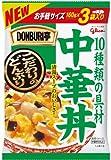 グリコ DONBURI亭 中華丼 3食P ×6セット