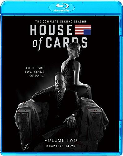 ハウス・オブ・カード 野望の階段 SEASON2 ブルーレイ コンプリートパック [Blu-ray]の詳細を見る