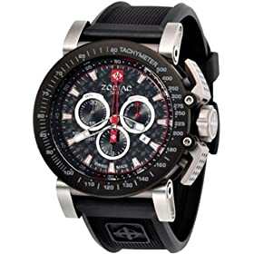 ZODIAC (ゾディアック) 腕時計 ZMX ブラック・カーボン ZO8503 メンズ