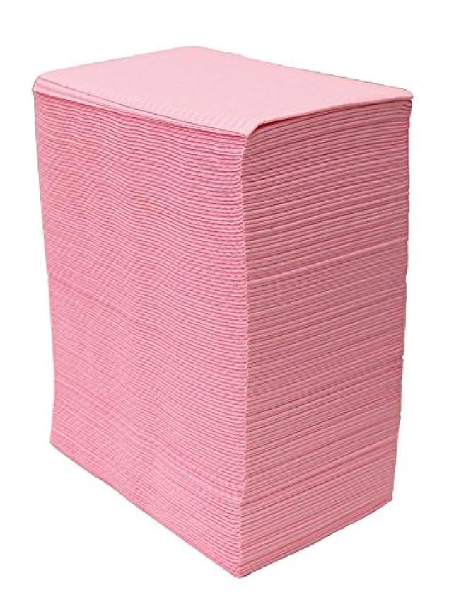 文房具私たちペン【125枚入】ネイルテーブルシート (ピンク) 防水加工 ジェルネイル ネイルペーパー ネイルマット 防水ネイルシート
