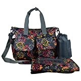 Best Ecosusiバッグ - ECOSUSI 4 Pieces Set Diaper Tote Changing Bag Review