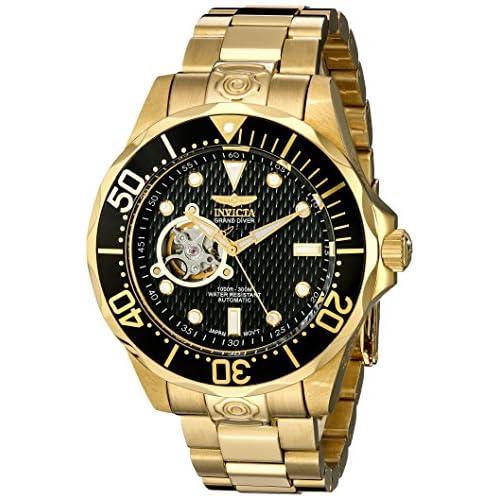 [インヴィクタ]Invicta 腕時計 Grand Diver Automatic Black Textured 13709 メンズ [並行輸入品]