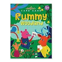 eeBoo Woodland Rummy Playing Cards, 1 EA [並行輸入品]