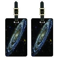 アンドロメダ銀河スペース荷物のタグのセット