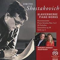 ショスタコーヴィチ:ピアノ・ソナタ第1番, 第2番/組曲 Op. 6 /24の前奏曲/タランテッラ